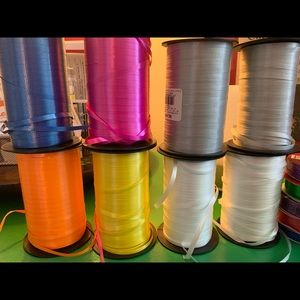 Other - Curling Ribbons, bows, gift wrapping supplies